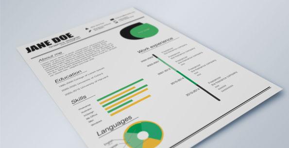 Fresh Resume by Tina Helsinki